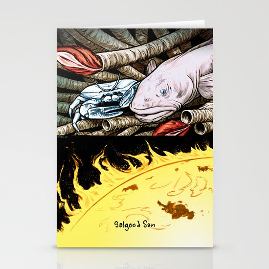 Life on the event horizon 2 Stationery Card
