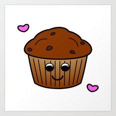 Muffin Art Print