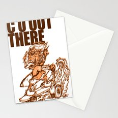 C U OUT THERE Stationery Cards