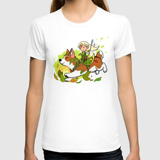 Corgi and Fairy T-shirt