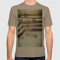 In Search Of Mens Fitted Tee Tri-Coffee SMALL
