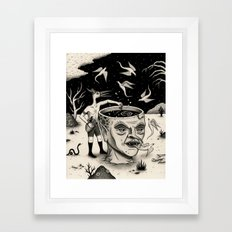 Evening Conjuring Framed Art Print