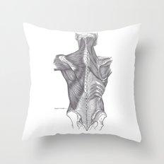 Anatomy Throw Pillow