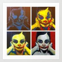 Process 01 (smile, Darn … Art Print