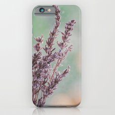 Lavender by the window Slim Case iPhone 6s