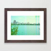 new york spectrum Framed Art Print