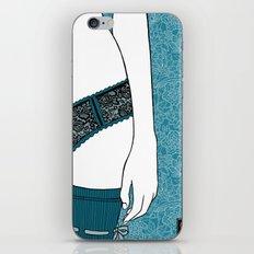 La femme 22 iPhone & iPod Skin