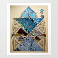 Paper House 1 Art Print