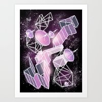 Cosmic Playground Art Print