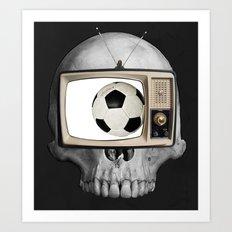 Football WM 2 Art Print