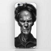 Clint Eastwood iPhone & iPod Skin