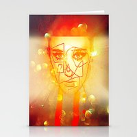 The Girl UnWound Stationery Cards
