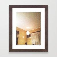 We Live Here  Framed Art Print