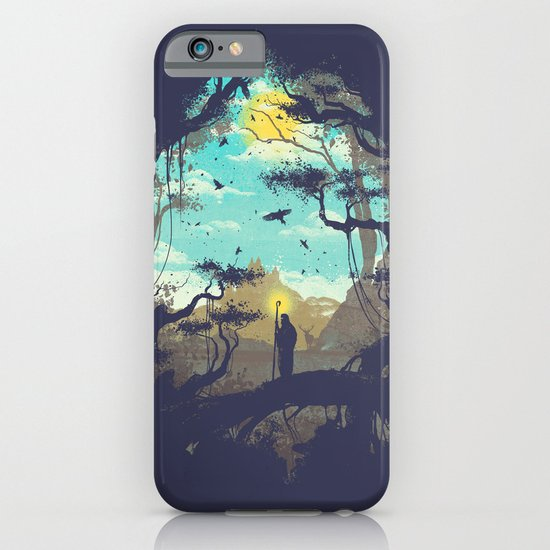 The Guardian Of The Sun iPhone & iPod Case