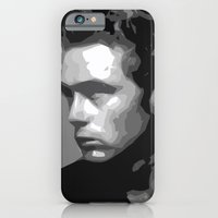 iPhone & iPod Case featuring James Dean by  David Somers