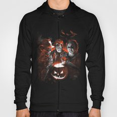 Freddy Krueger Jason Voorhees Michael Myers Super Villians Holiday Hoody
