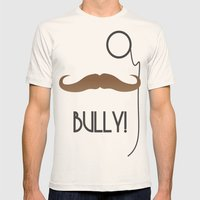 Bully Mens Fitted Tee Natural SMALL