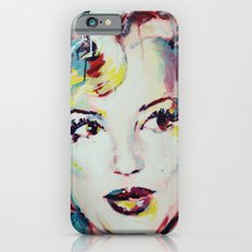 Merylin Monroe cinema and pop culture icon - portrait Slim Case iPhone 6s