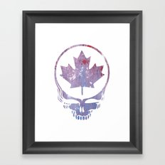 Canadian Steal Your Face (variation #3) Framed Art Print