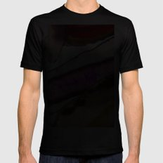 Agates, Slices of Earth SMALL Mens Fitted Tee Black