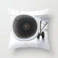 ghost of the modern age... Throw Pillow