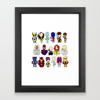 X MEN GROUP Framed Art Print