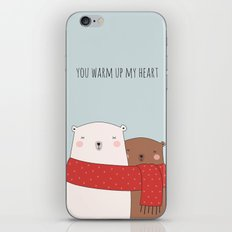 BEAR LOVE iPhone & iPod Skin