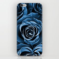 Rose Bouquet in Blue iPhone & iPod Skin