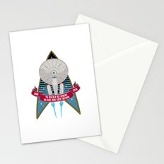Boldly Go - 50th Anniversary Stationery Cards