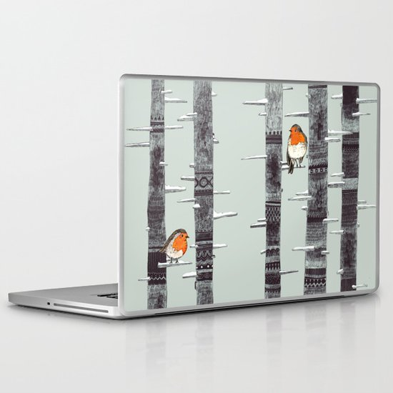 Robin Trees Laptop & iPad Skin
