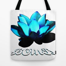 Lotus Flower Bomb Tote Bag