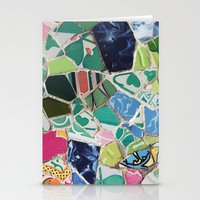 Tiling With Pattern 6 Stationery Cards