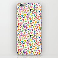 Love the world iPhone & iPod Skin