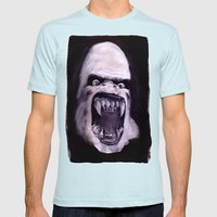 Rawhead Rex Mens Fitted Tee Light Blue SMALL