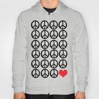 PEACE PEACE ANDLOVE Hoody