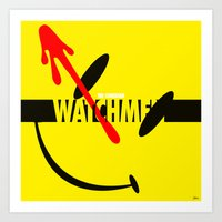 Watchmen 2.0 - The Comed… Art Print