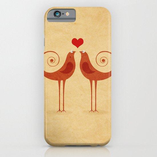 Love Birds iPhone & iPod Case