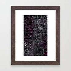 Chemical Reaction Framed Art Print