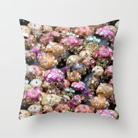 Party All Night Throw Pillow