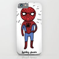 Super Cute Heroes: Spidey Senses iPhone 6 Slim Case