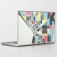 seattle Laptop & iPad Skins featuring Seattle. by Studio Tesouro