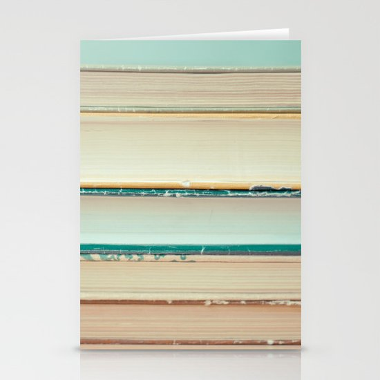 Books Stationery Card