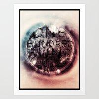 One Hundred Suns Art Print