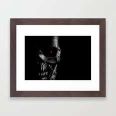 Endoskeleton Framed Art Print