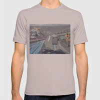 Perspective  Mens Fitted Tee Cinder SMALL