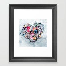 Love Forever Framed Art Print