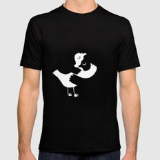 French Colombes Black SMALL Mens Fitted Tee