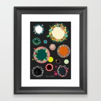 The Planets Print Two Framed Art Print