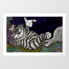 Cheshire Cat HiDef Art Print