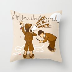 The worst Detective EVER Throw Pillow